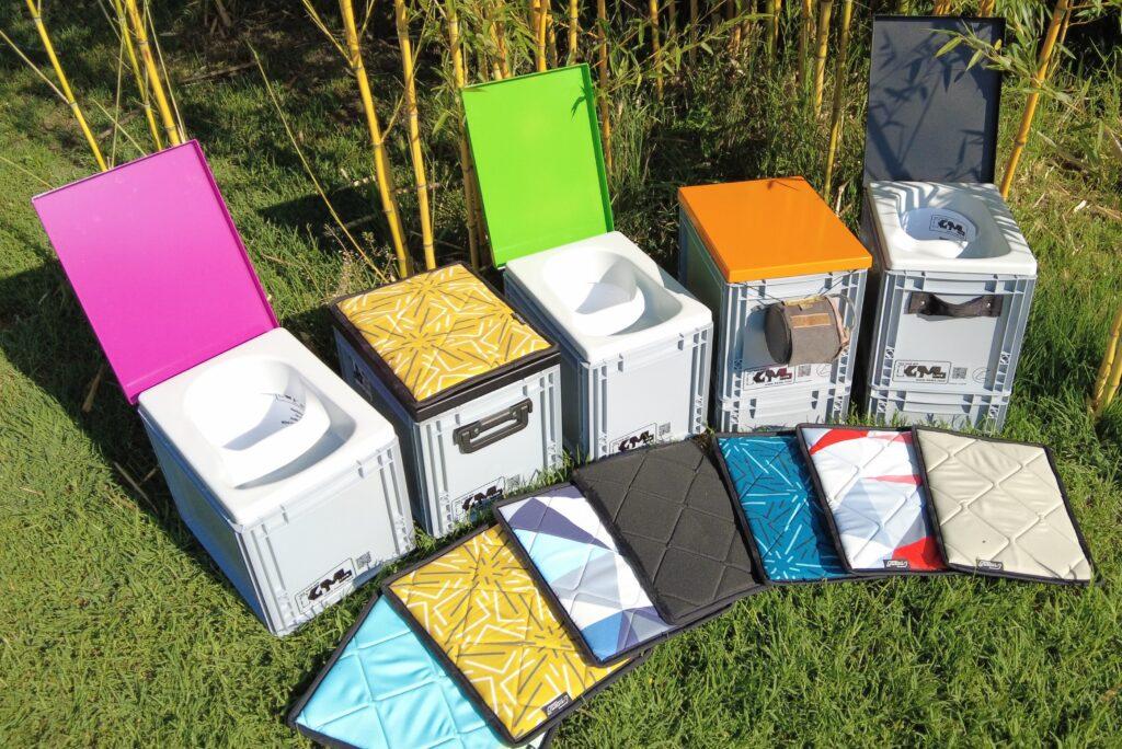 miniTTT von KoMa.Land ... Trocken-Trenn-Toilette im Euro-Norm-Mass ... bunt wie das Leben ... und gleichzeitig funktionell und hygienisch!
